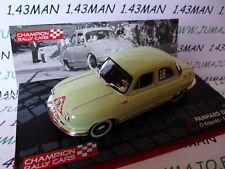 RF3M voiture 1/43 IXO Rallye Champions Finlande : PANHARD DYNA 1954 Kalpala