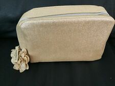 New! Lancome Cosmetic Bags, Gold