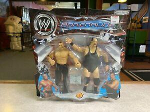 2003 Jakks Pacific WWE Wrestling Adrenaline BROCK LESNAR & BIG SHOW 2 Pack MOC