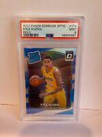 2017-18 Panini Donruss Optic Holo Kyle Kuzma Los Angeles Lakers Rookie 174 PSA 9