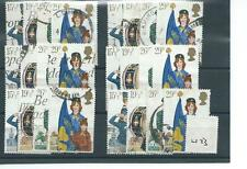 GB - COMMEMORATIVES - 1982 - W73 - SIX SETS - YOUTH ORGANISATIONS  - USED