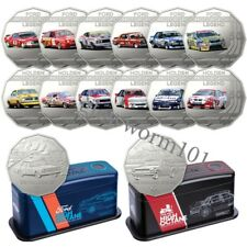 Australia 2018 High Octane Motorsport FORD & HOLDEN 7 Coin 50c Collections