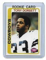 1978 Topps # 315 TONY DORSETT ROOKIE RC REPRINT Dallas Cowboys Sweet LOOK !