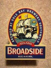 Beer Pump Tap Badge Clip - Adnams Broadside Southwold - Man-Cave Bar