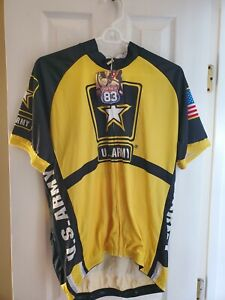 Army Cycling Jersey L