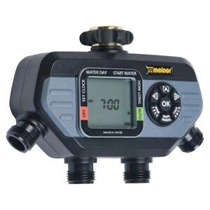 Melnor 4 Output Port Digital Hose End Water Timer