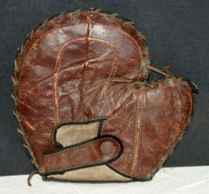1900's - 1910's, Game Used First Baseman's Baseball Mitt