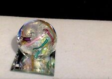 Glass Eye Studio GES Artist Paperweight On Mirror, # 90. Art Glass.