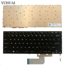 NEW For MSI GS43 GS40 GS43VR keyboard White backlit NOT RED US No Frame