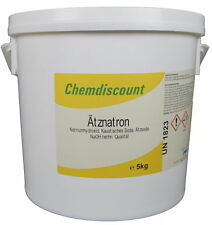 5kg Ätznatron (naoh Seifennatron) Im Eimer