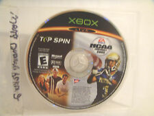 NCAA Football 2005 / Top Spin Combo - Xbox - Disc ONLY!