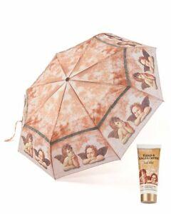 """P330 Set: Regenschirm & Handcreme """"beige"""""""