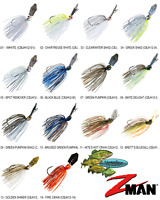 Z-MAN Chatterbait Jack Hammer Bladed Vibrating Jig 1/2oz (CBJH12) Any 14 Colors