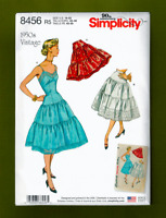 50's Vintage Petticoats & Slip Sewing Pattern (Sizes 14-22) Simplicity 8456