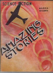 Amazing Stories 1933 March.  Pulp