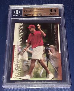 Tiger Woods 2001 Upper Deck Tiger Collection Rookie RC BGS 9.5 Gem Mint 2x 10
