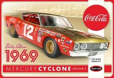 Polar lights Bobby Allison 1969 Coca Cola Mercury Cyclone NASCAR model kit 1/25
