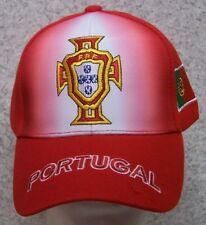 Embroidered Baseball Cap Soccer International Portugal Football Federation NEW
