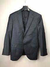 Hackett Mayfair x Loro Piana 130s Striped Navy Two Button Blazer Jacket 40 R 50