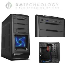 CASE ALANTIK CON ALIMENTATORE PS50CN USB 3.0 500W ATX MIDDLE TOWER CASC02