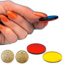 b+d Schiedsrichter Wählmarke rot/schwarz gelb/schwarz | Referee-Chip | Wählmünze