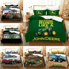 John Deere Quilt Cover Bedding Set 3PC OF Duvet Cover Pillowcase Comforter Cover