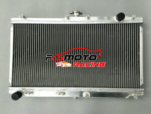 Alluminio Radiatore Per Mazda Miata NB MX5 MX-5 1.6L 1.8L Roadster 1998-2005 MT