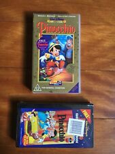 Disney's Pinocchio VHS - Limited Release, Collectors Edition, New and Sealed
