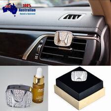 HONDA Emblem Crystal Auto Car Vent Air Freshener Fragrance Perfume Gift