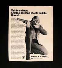 1971 Smith & Wesson B-B~Pellet Gun Boys Kids Toy Memorabilia Promo Trade Ad