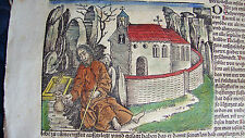 Schedel Weltchronik Liber Chronicarum Nuremberg Chronicle 1493 KOBERGER SCHEDEL
