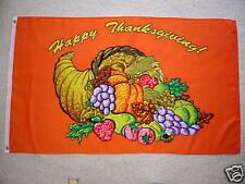 3' X 5' Happy Thanksgiving Flag 3 X 5