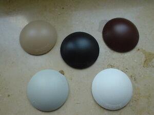 2 St. Hansi Wandtürpuffer, Bumms selbstklebend 60mm, weiß, braun, beige, grau