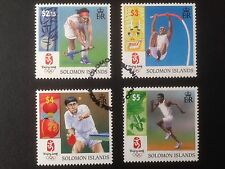 Solomon Islands 2008 Olympic Games Beijing Set SG 1246-1249 Fine Used