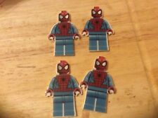 SPIDERMAN SPIDER MAN FLAT BACK PLANAR RESIN X 4 Craft LEGO FORM PHOTO UK SELLER