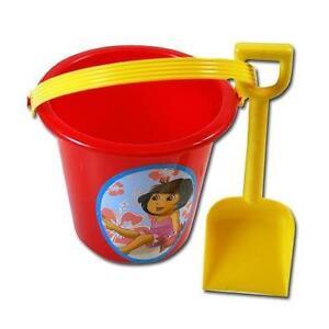 Party Favors Dora The Explorer Sand Bucket and Shovel Beach Toys For Kids