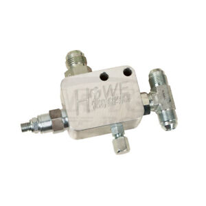225-1101 Howe P/S Relief Valve #8 Pressure In/Out #10 Return To Reservoir