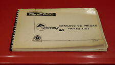 ORIGINAL OEM BULTACO PURSANG MK5 PARTS LIST BOOK PARTS FICHE PHOTOS NUMBERS