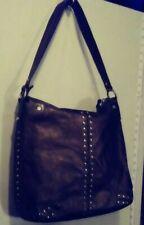Vintage Michael Kors Brown Leather Studded Bag
