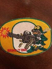 """The University Of Oregon DUCKS  Vintage Embroidered Iron On Patch 3.5"""" X 3"""""""