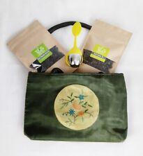 Perfect Gift- Handcrafted Oriented Bag with Green Tea Set by Tsimsy Suzy
