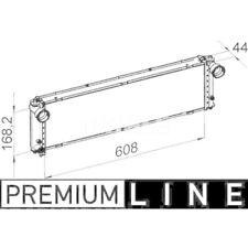 1 Kühler, Motorkühlung MAHLE CR 1394 000P PREMIUM LINE PORSCHE