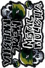 1 SHEET NEW METAL MULISHA MOTOCROSS ATV ENDURO BIKE RACING DECAL STICKER SK76