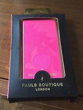 2 X nuevo Pauls Boutique Ava rosa funda de teléfono móvil se adapta iPhone 5 y 5s