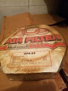 GENUINE FORD MOTORCRAFT AIR FILTER CORTINA ESCORT 4 CYL 1.1 1.3 1.5 NOS AFA83
