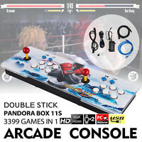 2021 New Version ! Pandora's Box 11S 3399 Games 2D/3D Video Game Double-players