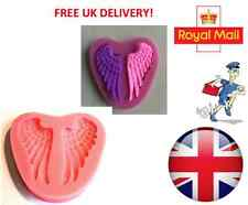 Sleeping Baby Angel Wings Silicone Mould Fondant Cake Topper Modelling Tools