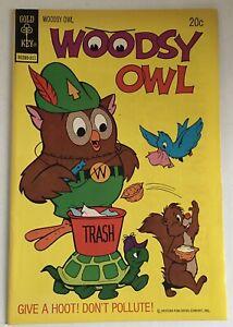 Woodsy Owl #1 Gold Key Comics 1973  Give a Hoot, Don't Polute!