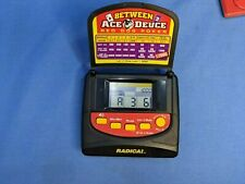 Handheld - Between Ace Deuce Red Dog Poker Model 2161 (Radica,Unknown) Works!