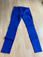 NWT Seven for all mankind jeans, Royal Blue, Size 28, Skinny And Elastic